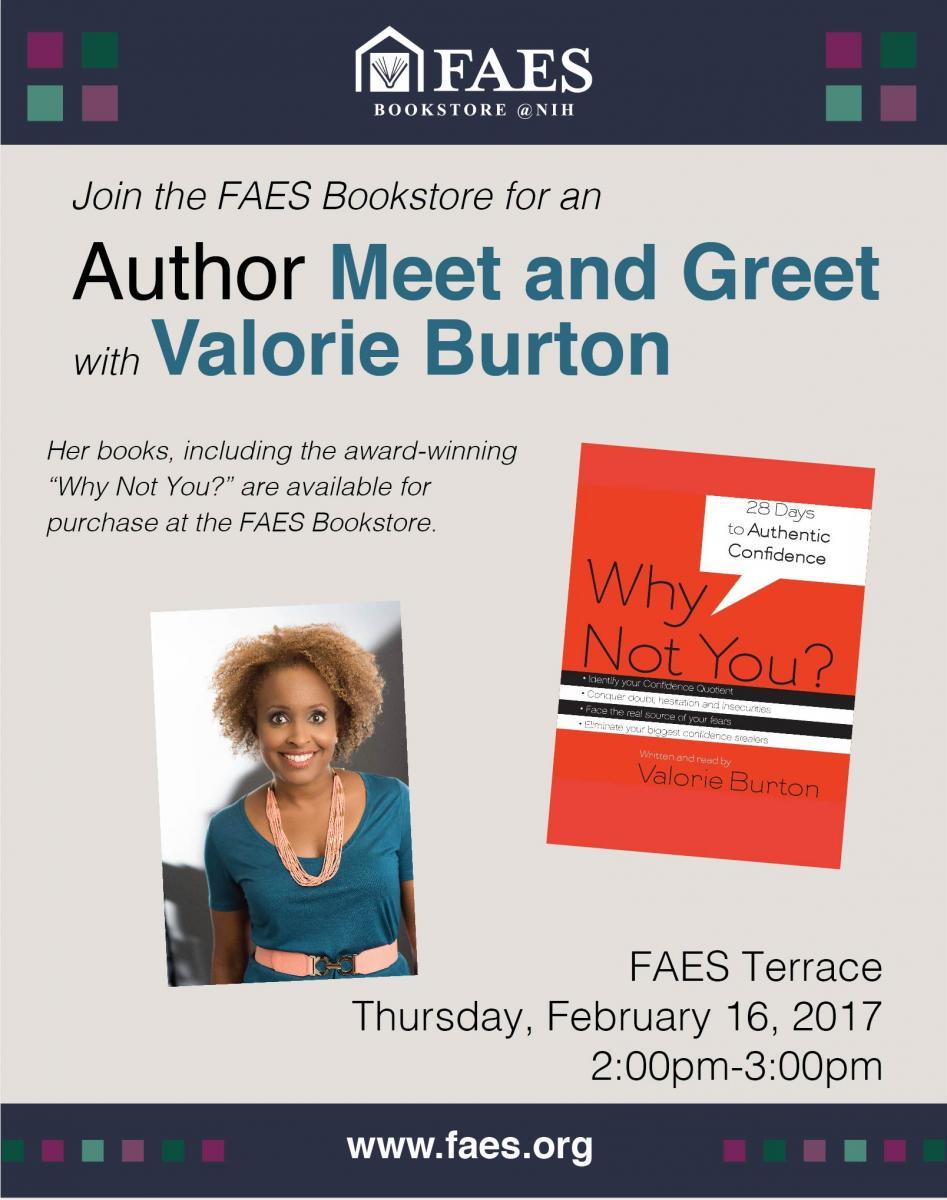 Author Meet Greet With Valorie Burton